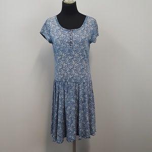 LRL Lauren Ralph Lauren Paisley 100% cotton dress